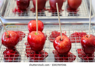 Sugar Candy Coated Apples