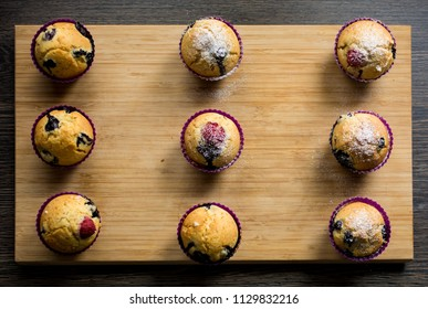 Sugar coated muffins