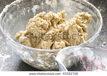 cookie dough glass