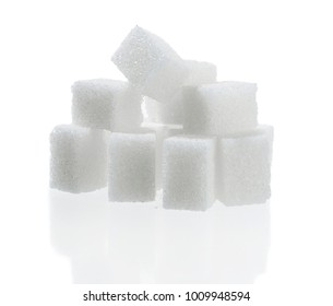 Sugar Cubes Isolated