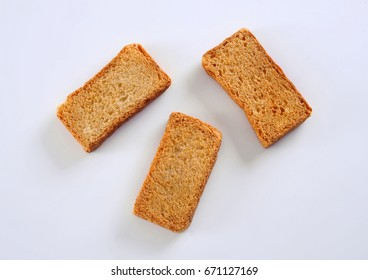 Sugar Free or Bran Rusks (Whole Wheat Rusks) for Diabetic Patients