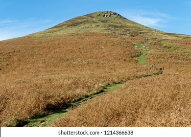 Sugar Loaf, Abergavenny Black Mountains outlier views from Sout Eastern slopes