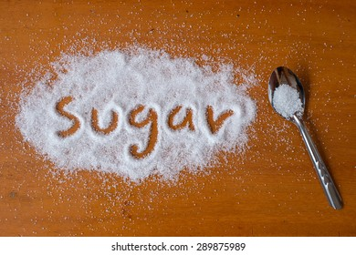Sugar on a spoon