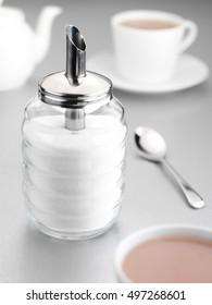 SUGAR SHAKER AND TEA