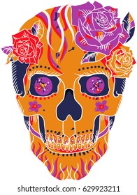 Sugar Skull Six Colors