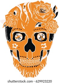 Sugar Skull Three Colors