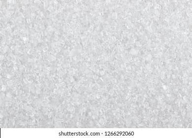 sugar texture, white sugar crystals close-up, macro