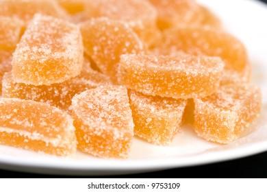 sugared dessert