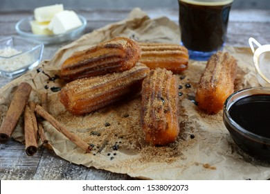 Sugar-Free Keto Churros with Almond Flour - an entire recipe preparation with instructions and photos of the final dish