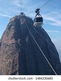 Sugarloaf cable car in Rio de Janeiro, Brazil.