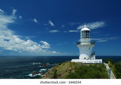 Sugarloaf Point Lighthouse, Seal Rocks, NSW, Australia