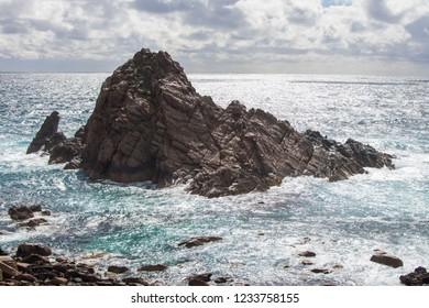 Sugarloaf rock in Margaret River region, Western Australia