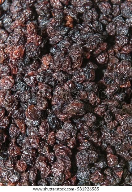 sugary raisin fruit dry