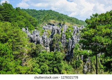 Sugong Coffins in the rock cliffs, Sagada, Luzon, Philippines
