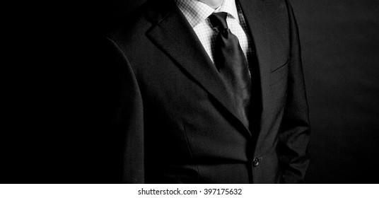 in suit