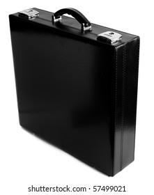 suit case on white background