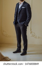 suit man fashio casual shoes style outfit model