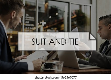 Suit and Tie Formalwear Tailormade Business