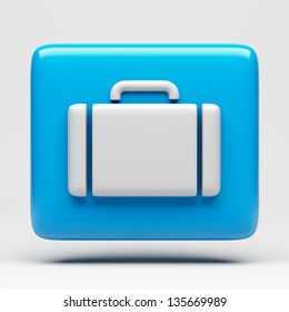 Suitcase Icon - Clipping Path