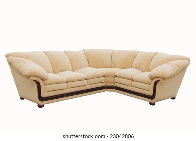 suite of soft furniture