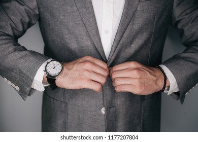 Suited man posing. Perfect to the last detail. Handsome young businessman .business and office concept - handsome businessman. Toned.
