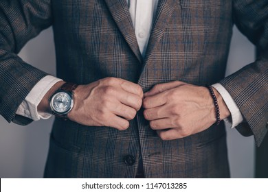 Suited man posing.Perfect to the last detail. Handsome young businessman .business and office concept - handsome businessman. Toned.