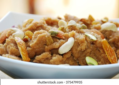 Suji Ka Halva is a sweet dish of India