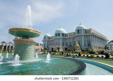 the Sukhawadee Palace near the city of Pattaya in the Provinz Chonburi in Thailand.  Thailand, Pattaya, November, 2018