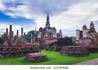 Sukhothai Historical Park, landmarks in Thailand