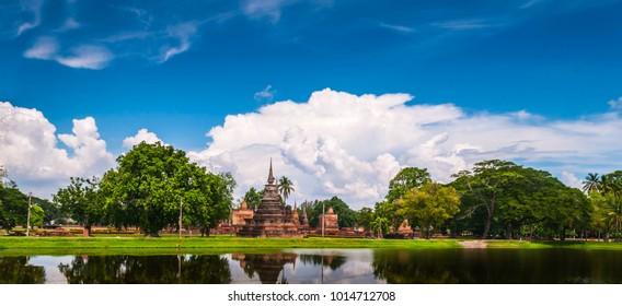 Sukhothai Historical Park, Sukhothai, Old Town,  civilization, tourism, World Heritage Site, Thailand,UNESCO