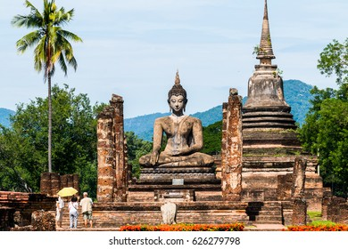 Sukhothai Historical Park, Sukhothai, Old Town, historic, civilization, history, tourism, World Heritage Site, Thailand,UNESCO.
