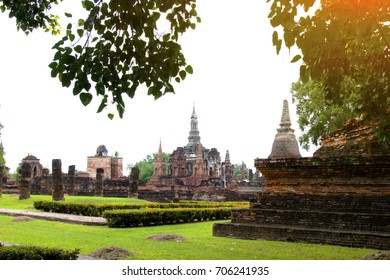 Sukhothai Historical Park in Sukhothai Province Thailand. It's one of the most historical parks in Thailand