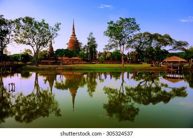 Sukhothai Historical Park, Sukhothai (Thailand)