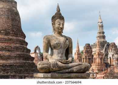 Sukhothai historical park, Thailand - World Heritage Site