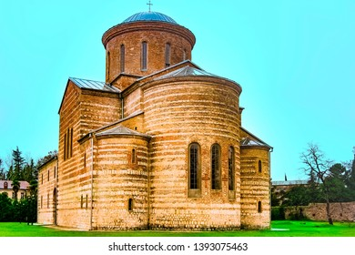 Sukhum, Abkhazia, - 03 January, 2013:  old Cathedral in Abkhazia. Old architecture. the Orthodox Church