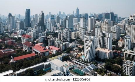 Sukhumvit Bangkok Skyline
