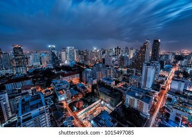 Sukhumvit district in Bangkok, Thailand