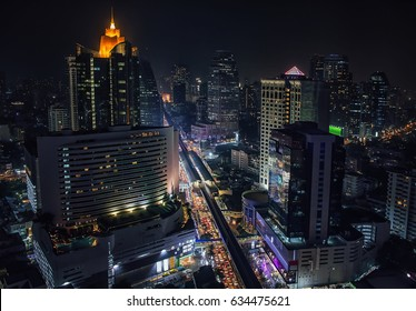 Sukhumvit road in Bangkok