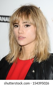 """Suki Waterhouse arriving for the """"Mademoiselle C"""" premiere at the Mayfair Hotel, London. 15/09/2013"""