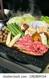 Sukiyaki or Shabu shabu are kind of Japanese foods.