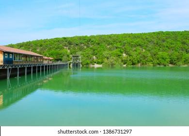 Sukko lake and park in Sukko Valley