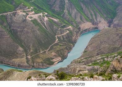 Sulak Canyon, serpentine, Republic of Dagestan