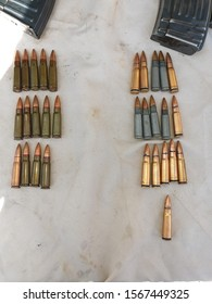 Sulaymaniyah, Iraq, 22 Nov 2019 Ammunition of various caliber