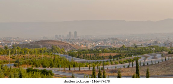 Sulaymaniyah from the outskirts