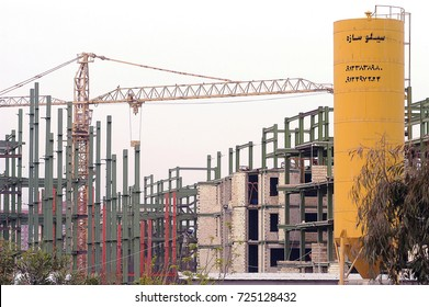 Sulaymaniyah,Iraq - April 04,2006 :construction is rising in northern Iraq