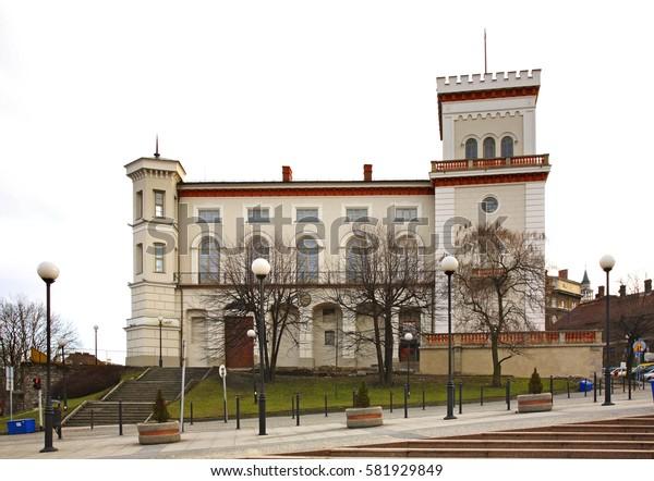 Sulkowski castle in Bielsko-Biala. Poland