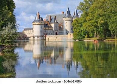 Sully-sur-Loire castle, France