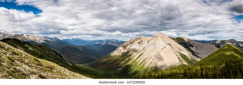 Sulphur Skyline Trail, Jasper National Park,  Alberta, Canada