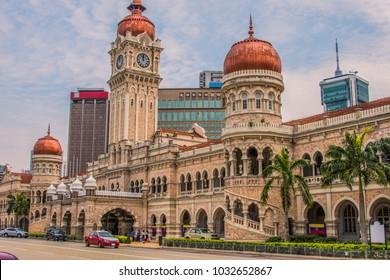 Sultan Abdul Samad building in Independence Square Kuala Lumpur - Malaysia