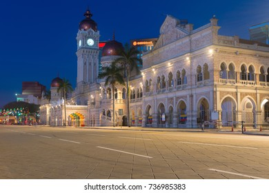 Sultan Abdul Samad Building is popular historic attraction and landmark.